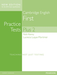 Cambridge First Volume 2 Practice Tests Plus New Edition Students' Bookwithout Key