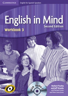 English in Mind for Spanish Speakers Level 3 Workbook with Audio CD 2nd Edition