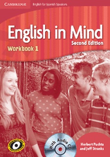 English in Mind for Spanish Speakers Level 1 Workbook with Audio CD 2nd Edition