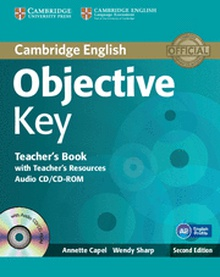 Objective Key Teacher's Book with Teacher's Resources Audio CD/CD-ROM 2nd Edition
