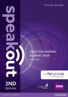 Speakout Upper Intermediate 2nd Edition Students' Book with DVD-ROM andMyEnglishLab Access Code Pack