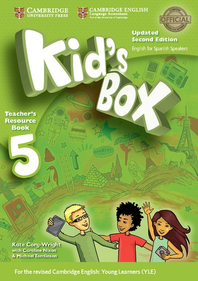 Kid's Box Level 5 Teacher's Resource Book with Audio CDs (2) Updated English for Spanish Speakers 2nd Edition
