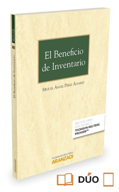 El beneficio de inventario (Papel + e-book)