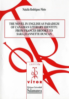 The novel english as paradigm of canadian literary identity