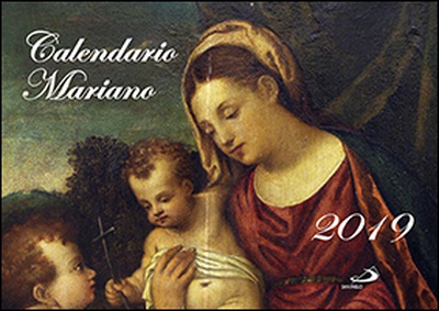 Calendario pared Mariano 2019
