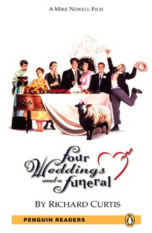 Penguin Readers 5: Four Weddings and a Funeral Book and MP3 Pack