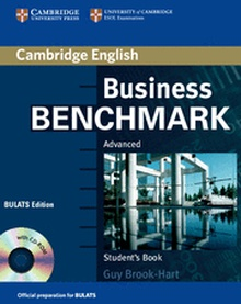 Business Benchmark Advanced Student's Book with CD ROM BULATS Edition