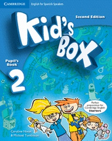 Kid's Box for Spanish Speakers  Level 2 Pupil's Book with My Home Booklet 2nd Edition