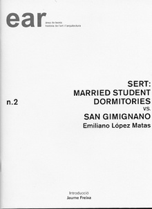 SERT: Married students dormitories vs. San Gimignano