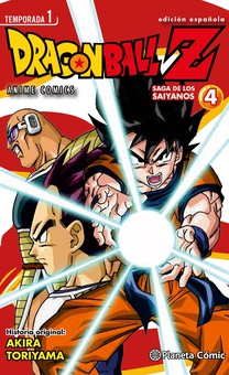 Dragon Ball Z Anime Series Saiyanos nº 04/05