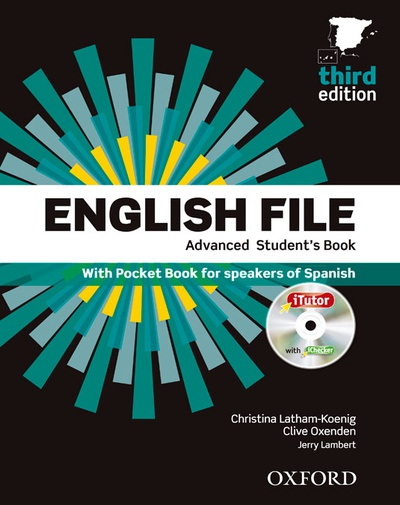 English File 3rd Edition Adavanced Student's Book+Itutor+Pb Pack