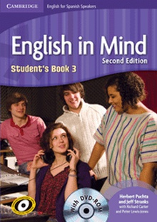English in Mind for Spanish Speakers Level 3 Student's Book with DVD-ROM 2nd Edition