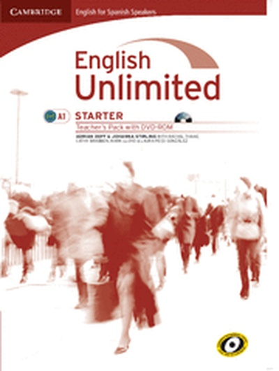 English unlimited for spanish speakers starter teacher's pack (teacher's book with dvd-rom)