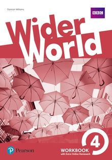 Wider World 4 WB w/ Online Homework Pack