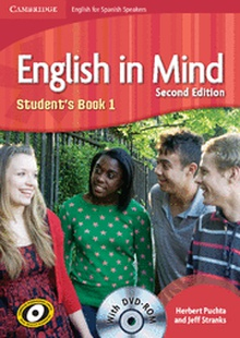 English in Mind for Spanish Speakers Level 1 Student's Book with DVD-ROM 2nd Edition
